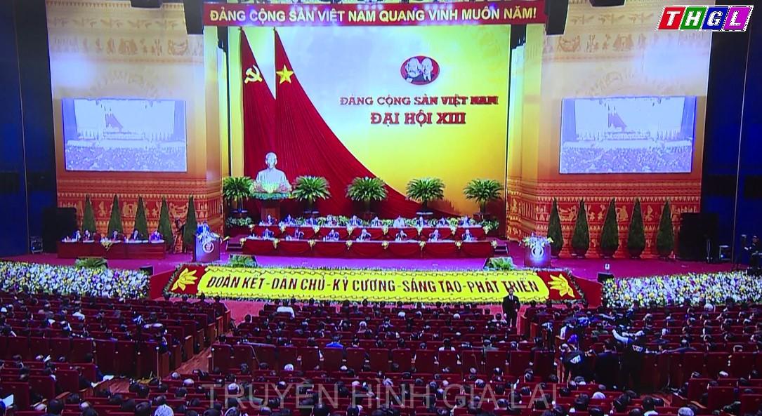 Ngày làm việc thứ ba của Đại hội XIII: Thảo luận Văn kiện đại hội