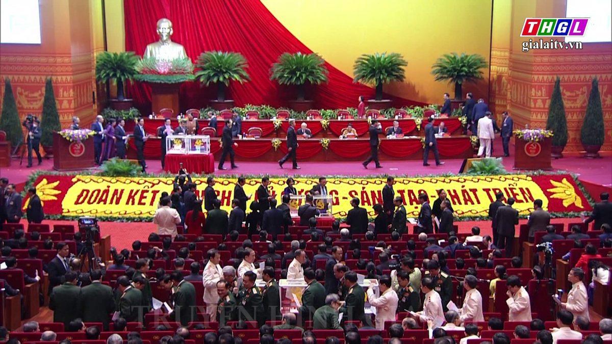Kết quả bầu cử Ban Chấp hành Trung ương Đảng khóa XIII và Hội nghị lần thứ nhất của Ban Chấp hành Trung ương Đảng khóa XIII