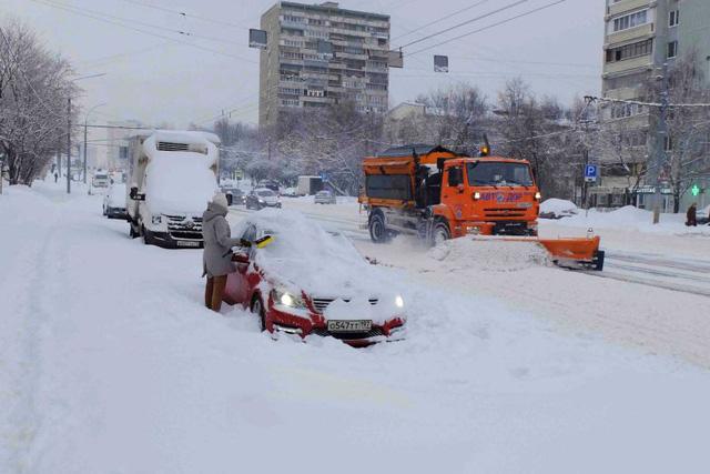 Mưa tuyết lớn chưa từng có trong hơn một thế kỷ qua tại Nga