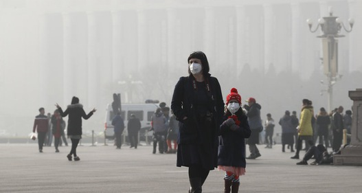 67 thành phố ở Trung Quốc kích hoạt cảnh báo ô nhiễm trong dịp Tết Nguyên đán