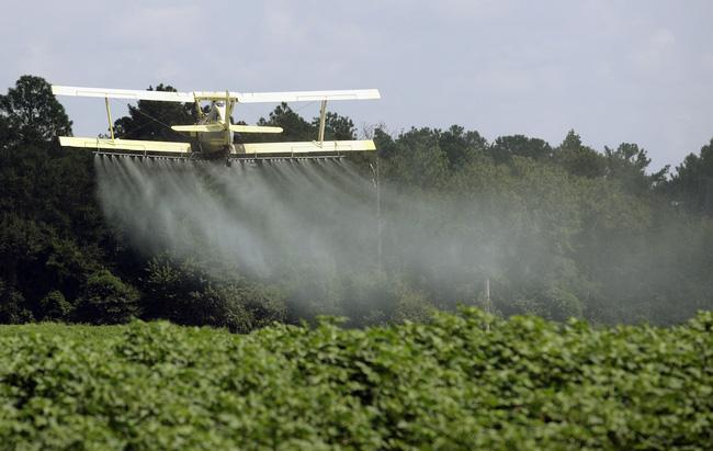 1/3 diện tích canh tác toàn cầu có nguy cơ cao bị ô nhiễm thuốc trừ sâu