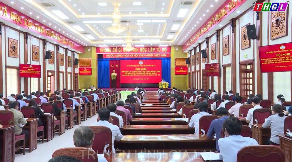 Hướng dẫn việc tổ chức các Hội nghị giới thiệu người ứng cử đại biểu Quốc hội (ĐBQH) và đại biểu HĐND các cấp, nhiệm kỳ 2021-2026