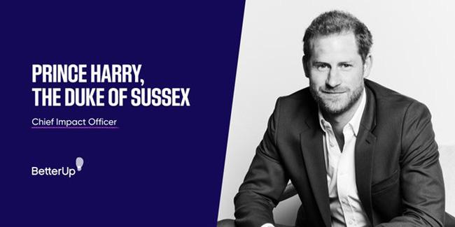 Hoàng tử Anh Harry tham gia công ty khởi nghiệp