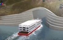 Đường hầm tàu thủy đầu tiên trên thế giới