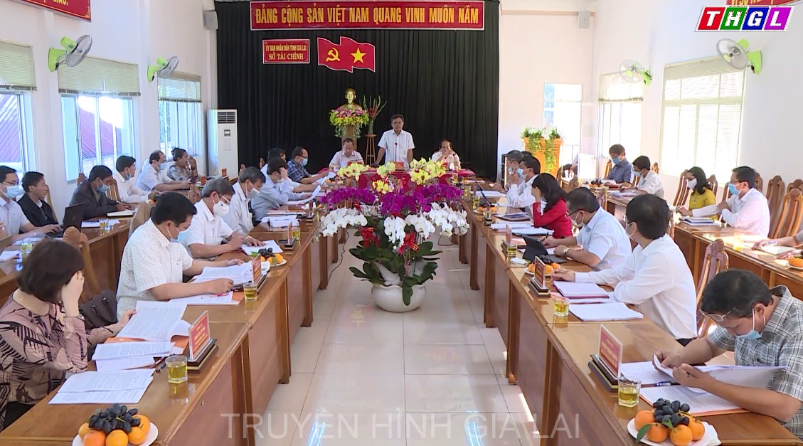 Thường trực Tỉnh ủy làm việc với Sở Tài chính