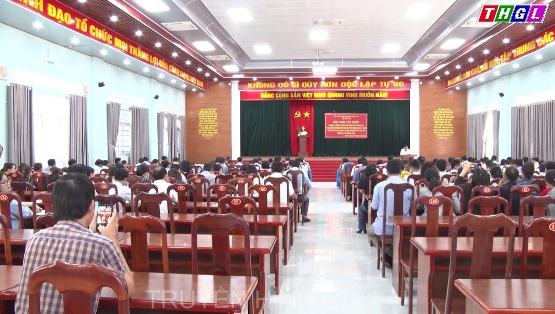 Hội nghị tập huấn nghiệp vụ công tác bầu cử đại biểu Quốc hội khóa XV và đại biểu HĐND các cấp nhiệm kỳ 2021 – 2026.