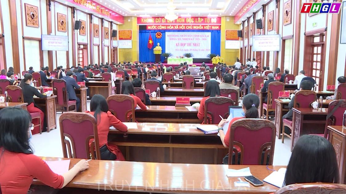 Kỳ họp thứ Nhất, HĐND tỉnh Gia Lai khóa XII thành công tốt đẹp
