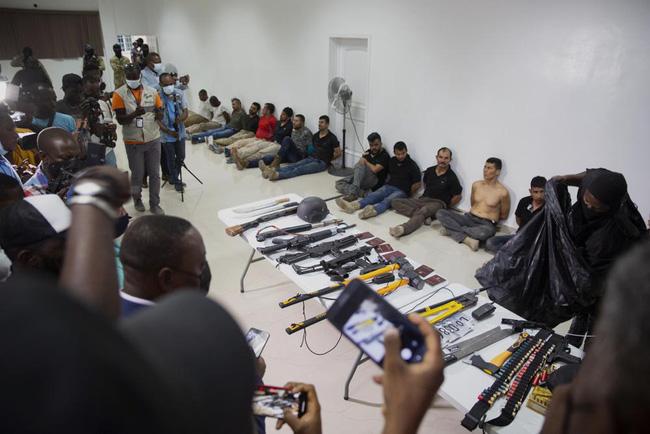 Haiti công khai các nghi can sát hại Tổng thống