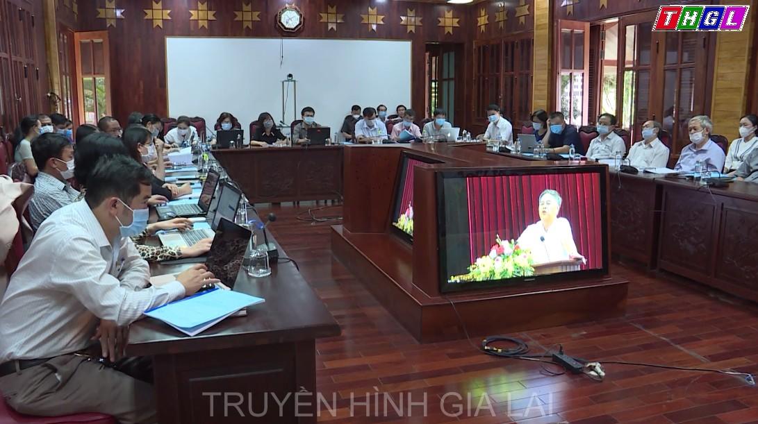 Ban Tuyên giáo Trung ương tổ chức Hội nghị trực tuyến toàn quốc nghiên cứu, học tập, quán triệt Nghị quyết Đại hội XIII của Đảng cho lãnh đạo các cơ quan báo chí, xuất bản