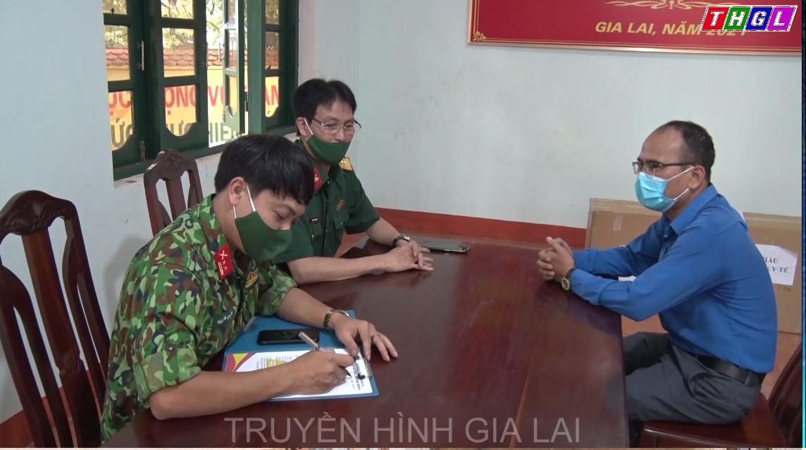 Đoàn Khối các cơ quan và doanh nghiệp tỉnh Gia Lai tặng trang thiết bị y tế, hỗ trợ phòng chống dịch Covid-19