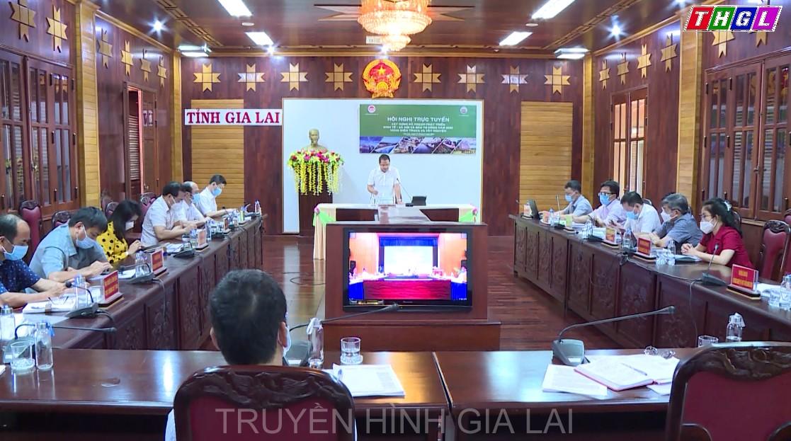 Hội nghị trực tuyến xây dựng kế hoạch phát triển kinh tế-xã hội và đầu tư công năm 2022