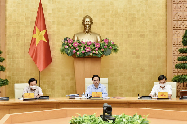 Kết luận của Thủ tướng Chính phủ tại cuộc họp trực tuyến ngày 05/9