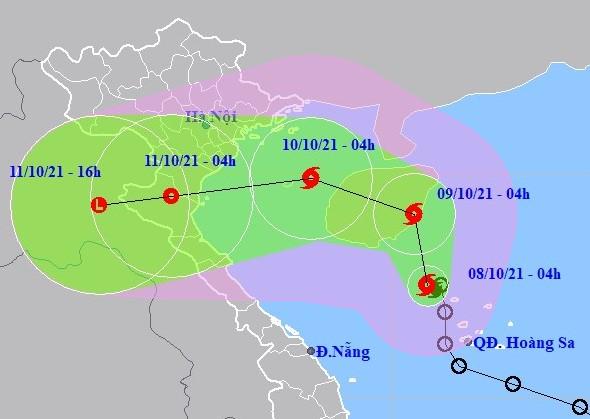 Tin mới nhất về bão số 7 (LIONROCK) và các chỉ đạo ứng phó