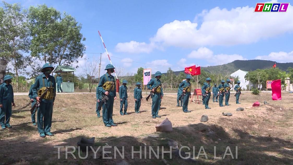 An Khê chú trọng công tác quốc phòng, quân sự địa phương
