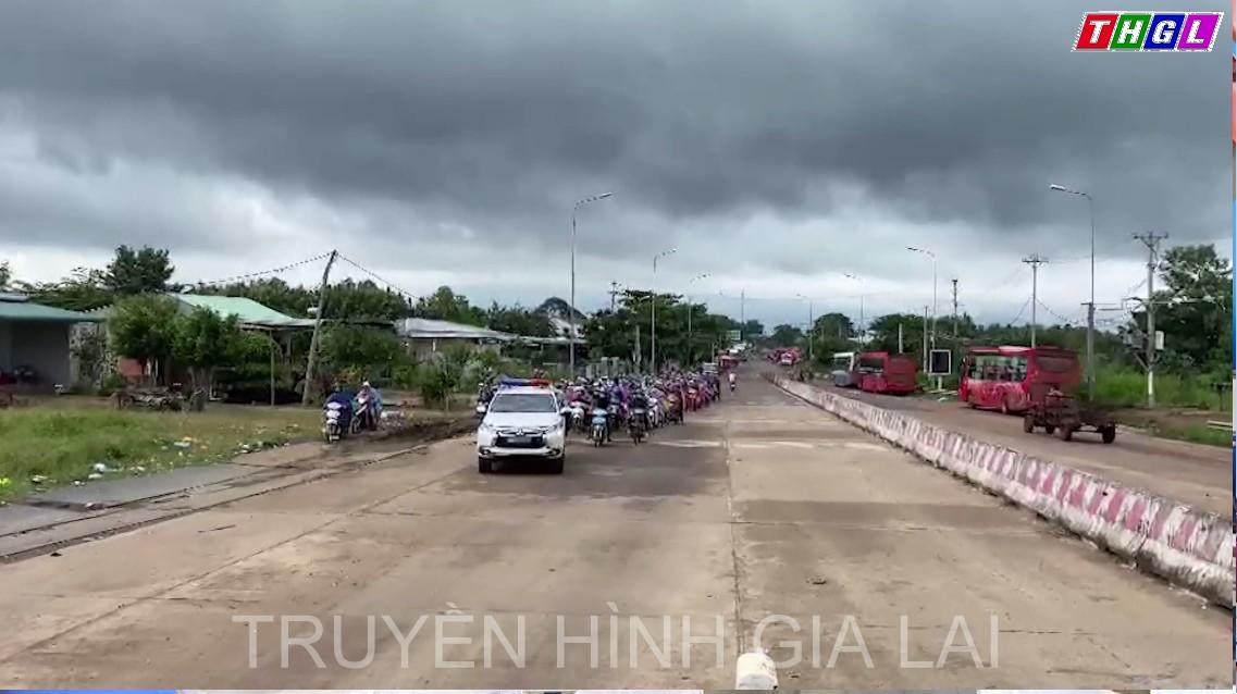 Có khoảng 250 công dân lưu thông về các chốt kiểm soát phòng, chống dịch Covid-19 tại các cửa ngõ vào tỉnh Gia Lai