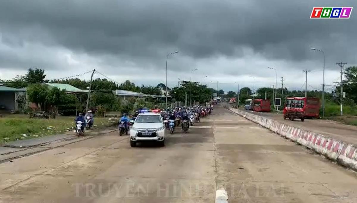 Gần 500 công dân lưu thông về các chốt kiểm soát phòng, chống dịch Covid-19 tại các cửa ngõ vào tỉnh Gia Lai