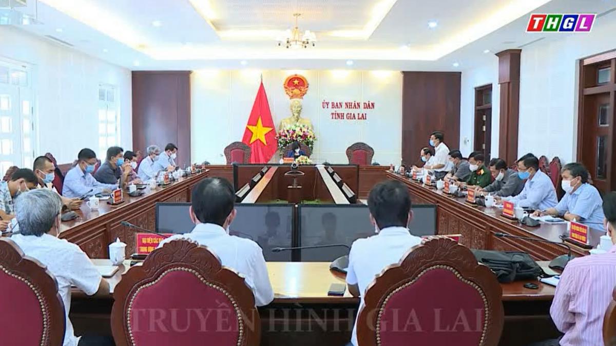 Ban chỉ đạo phòng, chống dịch Covid – 19 tỉnh Gia Lai tổ chức họp báo thông tin về tình hình phòng, chống dịch Covid – 19 trên địa bàn tỉnh