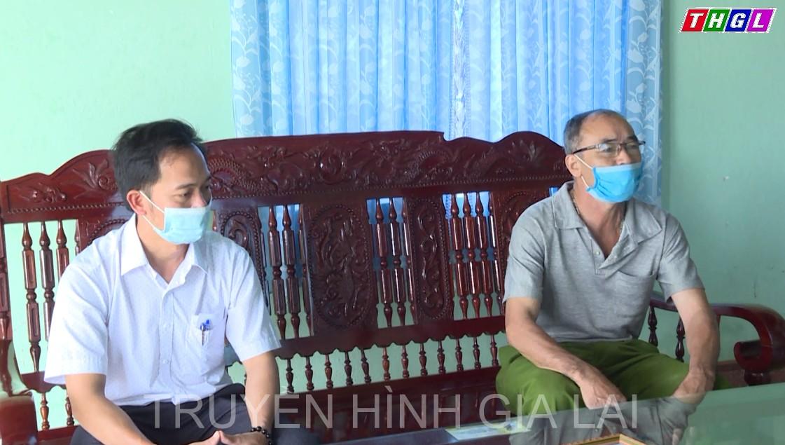 Ông Nguyễn Hữu Ái tích cực tham gia chống dịch Covid – 19