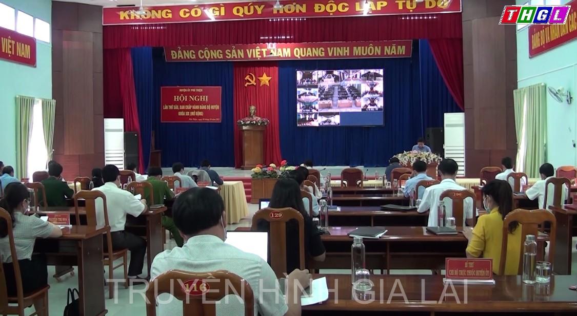 Phú Thiện: Tổ chức hội nghị lần thứ sáu, Ban chấp hành đảng bộ huyện khóa XIX (mở rộng)