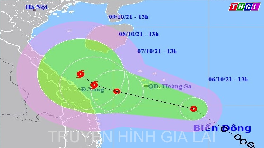 Áp thấp nhiệt đới có khả năng mạnh lên thành bão giật cấp 11, mưa lớn trên 600mm
